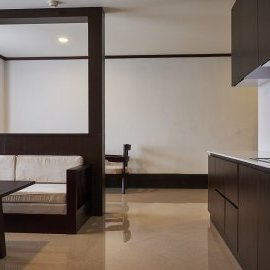Lobby & Kitchen in Executive Suite - Continental Plaza Vientiane